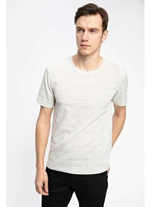 DeFacto Slim Fit Kısa Kollu T-shirt